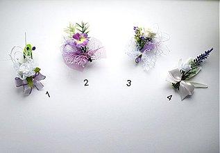 Pierka - Svadobné pierka fialkové - 1442469