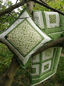Úžitkový textil - V zelenom tóne...:)))) - 1444107