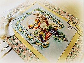 Papiernictvo - Chlieb lásky... - 1450668