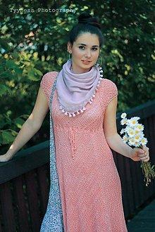 Šaty - Amalia pink dress - 1456060