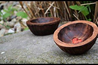 Nádoby - Miska malá-hněď - 1458338