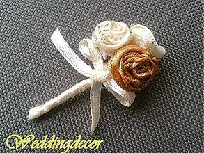 Pierka - Svadobné pierka - ruže 2 - 1459377