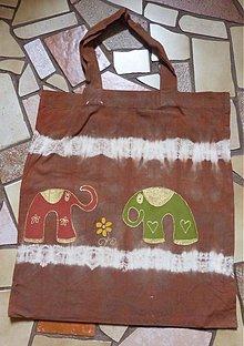 Veľké tašky - taška sloníková - 146243