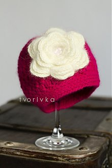 Detské čiapky - Milujem kvety! - 1467211