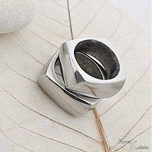 Prstene - Kovaná svadobná obrúčka - Kumali nerez - 1468164