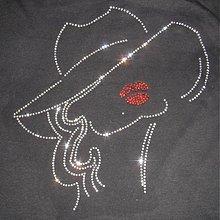 Galantéria - Žena v klobúku - 147092