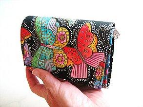 Peňaženky - Na křídlech motýlů - peněženka - 1483133