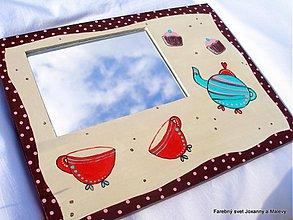 Zrkadlá - zrkadlo Retro čajík - 1496018