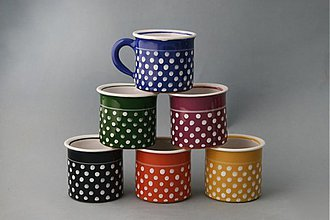 Nádoby - Kafáč 6 espresso puntík - sada 6 kusů - 1497267