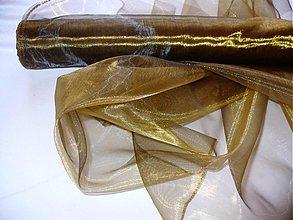 Textil - organza STAROZLATO - 149747