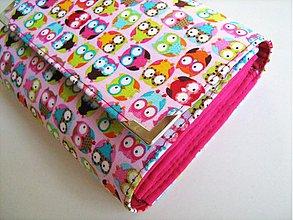 Peňaženky - Veselé mini sovičky -prostorná peněženka na 2 měny - 1500118