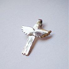 Náhrdelníky - Fly High / strieborný prívesok - 1500552