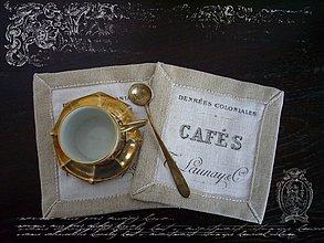 Úžitkový textil - prestieranicko Cafe II. - 1501448
