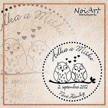 Papiernictvo - Svadobné razítko 45 - 1505683