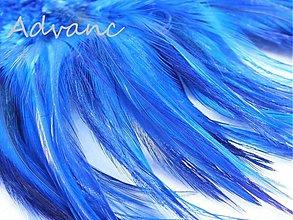 Suroviny - Kohútie jednofarebné modré tmavé R5 - 1507311