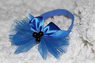 Ozdoby do vlasov - královská modrá - 1510130