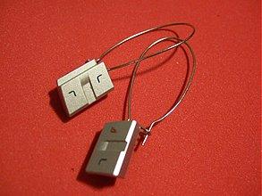 Náušnice - mobil naus - 15157