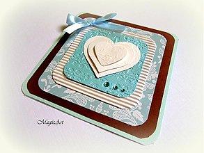Papiernictvo - Nebo okúpané v čokoládke... - 1516216
