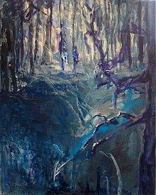 Obrazy - Niekto je za stromom - 1516436