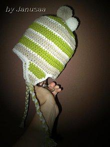 Detské čiapky - Čiapka ... bombolcová - 1516859