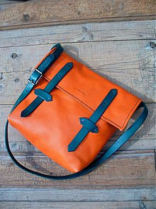 Veľké tašky - handmade-KERTAG®- STREET STŘEDNÍ Mandarín 2 - 1520340