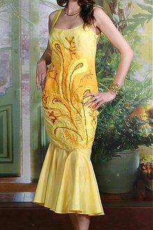 Šaty - Hodvábne šaty Lísa_S - 1527664