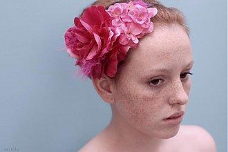 Ozdoby do vlasov - Pink by Hogo Fogo - 1529188