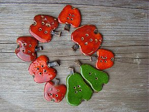 Odznaky/Brošne - Ovocné gombičky - 1530940
