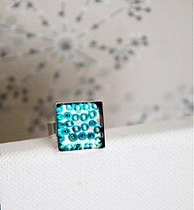 Prstene - Tyrkys elegant - 1540428