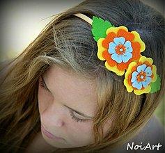 Ozdoby do vlasov - Čelenka COLORFUL 1 - 1541573