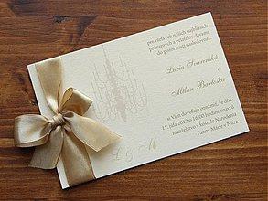 Papiernictvo - Svadobné oznámenie Leila - 1547938