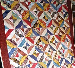 Úžitkový textil - patchworková deka pestrofarebná - 1550485