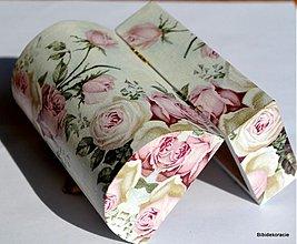 Krabičky - Nostalgicky ružová - 1551340