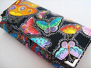 Peňaženky - Na křídlech motýlů - velká na spoustu karet - 1557010