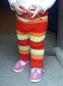 Detské oblečenie - Štrikované kaťata farebné - 1557324