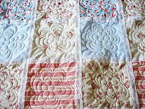 Úžitkový textil - Shabby chic prehoz - 1561021