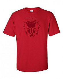 Oblečenie - Tričko Budha chalanské - 1569817