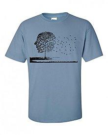 Oblečenie - Tričko profil tváre chalanské S - 1569835