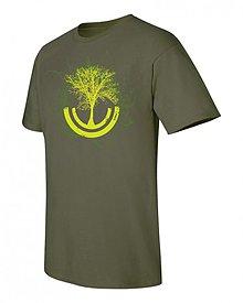 Oblečenie - Tričko sila stromu chalanské - 1569841