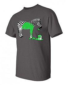 Oblečenie - Tričko zebra chalanské - 1569884