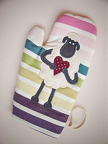 b61f5100009 Úžitkový textil - Dúhová ovečka - 1572614