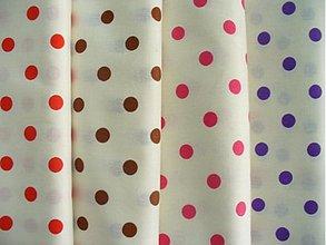 Textil - Bodkovaná bavlna - 1576975