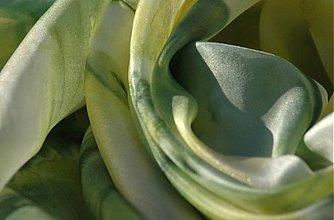 Šatky - Limetka a citron - hedvábný šátek - 1585461