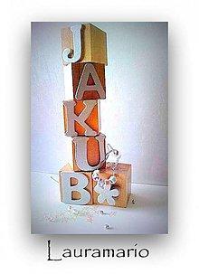 Hračky - Jakubkove kocky... - 1585734