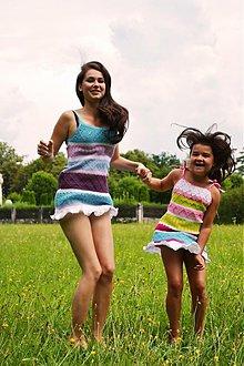Šaty - Farebné plážové šatôčky - 1586434