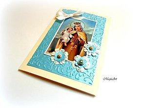 Papiernictvo - Nebeský pozdrav z Karmelu... - 1603354