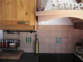 Dekorácie - obkladačka zelená mozaika - 1607623