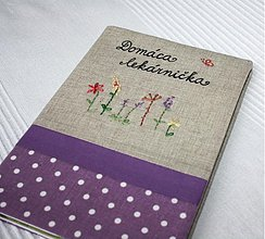 Papiernictvo - Domáca lekárnička - zápisník - 1607698