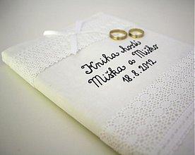 Papiernictvo - Svadobná kniha hostí - 1609599