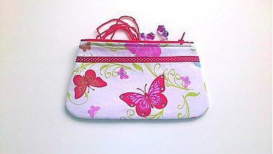 Taštičky - na motýlich krídlach- taštička - 1609908